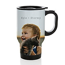 image of MyDzyne 14 oz. Photo Aluminum Coffee Mug