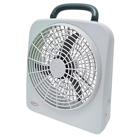 Roadpro 174 Rp8000 2 Speed Portable Fan In White Bed Bath