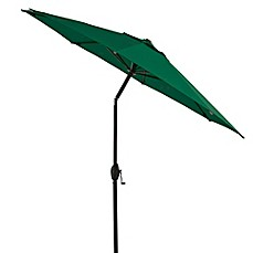 image of 7-Foot Round Bistro Aluminum Umbrella