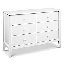 image of carter's® by DaVinci® Morgan 6-Drawer Dresser in White