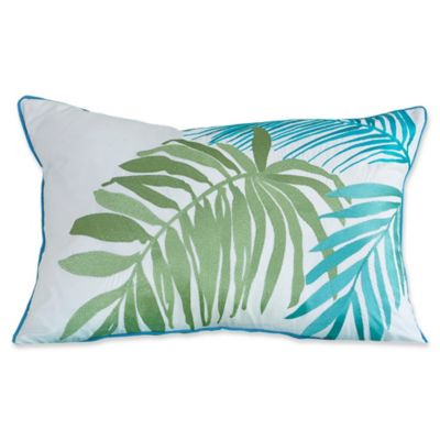 Buy Tybee Island Oblong Throw Pillow in White from Bed Bath & Beyond