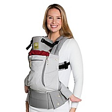image of LÍLLÉbaby® Complete All Seasons Baby Carrier in Breton Stripes