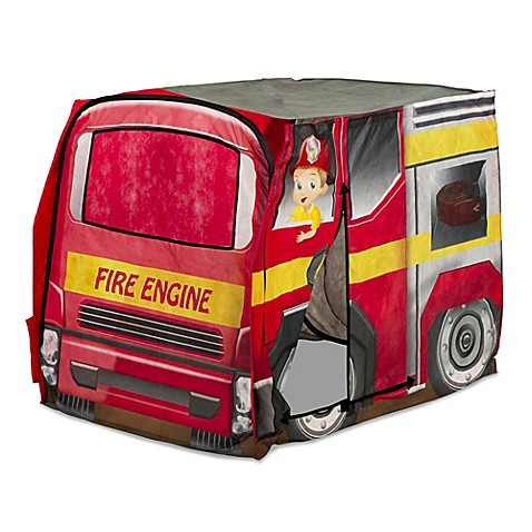Playhutu0026reg; Vehicle Fire Engine Pop-Up Tent  sc 1 st  Bed Bath u0026 Beyond & Playhut® Vehicle Fire Engine Pop-Up Tent - Bed Bath u0026 Beyond
