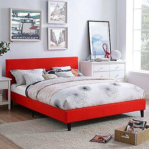 modway anya queen bed frame - Queen Bedroom Frames