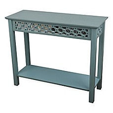 image of Decor Therapy Mirrored Front Console Table