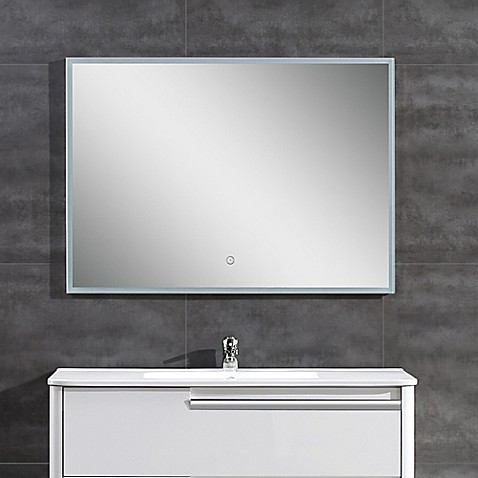 Ove Decors Saros Led Mirror In Chrome Bed Bath Amp Beyond