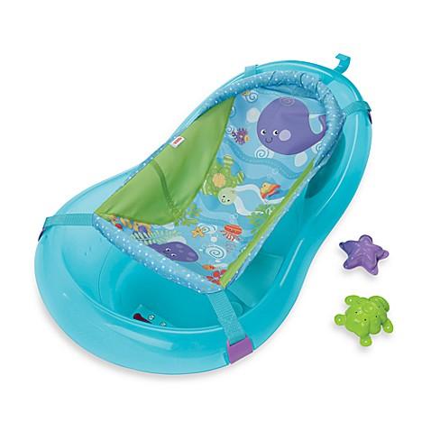 Fisher-Price® Aquarium Bath Tub Center - buybuy BABY