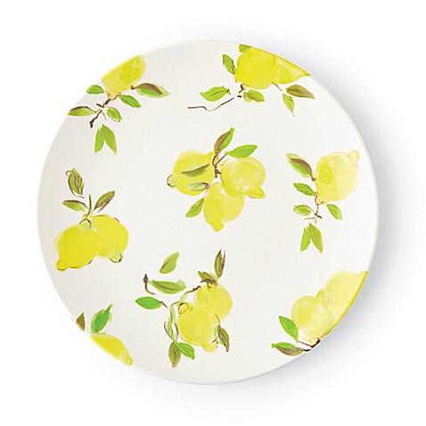 kate spade new york Lemon Melamine Dinner Plate  sc 1 st  Bed Bath \u0026 Beyond & kate spade new york Lemon Melamine Dinner Plate - Bed Bath \u0026 Beyond