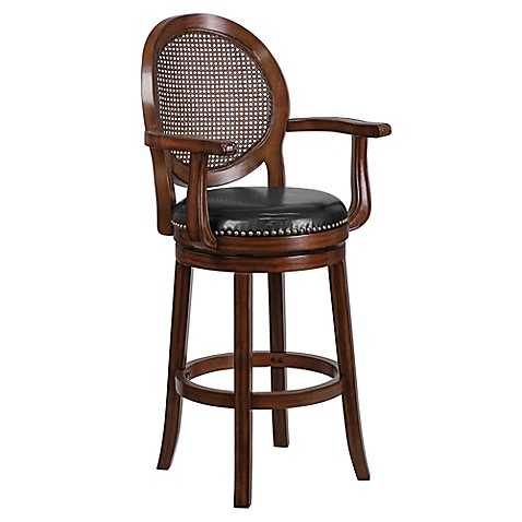 Buy Flash Furniture 30 Inch Wood Bar Stool With Arms In