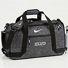 image of Nike® Embroidered Name Duffel Bag