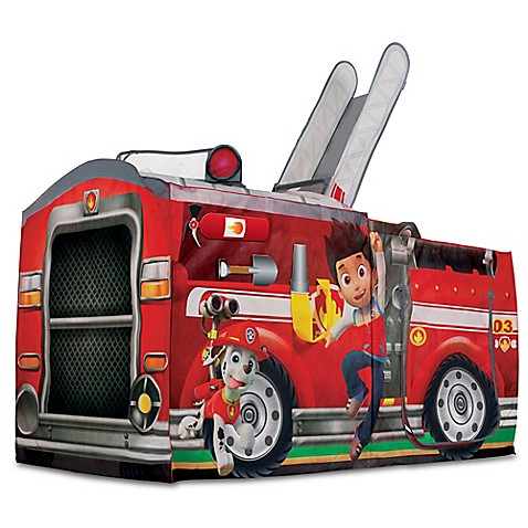 Playhutu0026reg; PAW Patrolu0026trade; Marshallu0026#39;s Fire Truck Pop-Up Play  sc 1 st  buybuy BABY & Playhut® PAW Patrol™ Marshallu0027s Fire Truck Pop-Up Play Tent ...