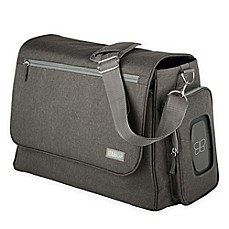 image of bbluv Ultra Diaper Bag with 5 Accessories in Charcoal
