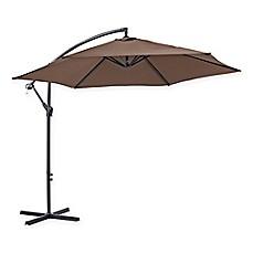Image Of Walker Edison Cantilever 9 Foot Patio Umbrella
