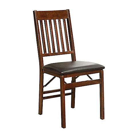 Image Of Mission Back Wood Folding Chair