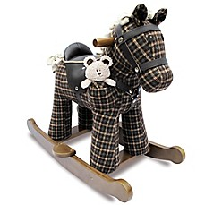 image of Little Bird Told Me Rufus and Ted Rocking Horse
