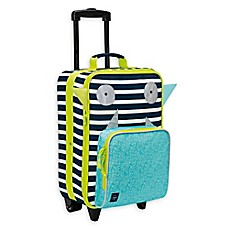 image of Lassig Little Monsters Trolley Suitcase in Bouncing Bob