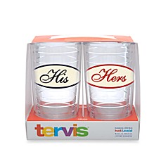 image of Tervis® His and Hers 16-Ounce Tumblers (Set of 2)