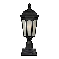 image of Natalya Outdoor Lantern Collection in Black