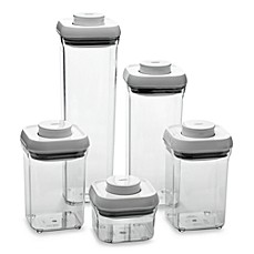 image of OXO Good Grips® 5-Piece Food Storage Pop Container Set