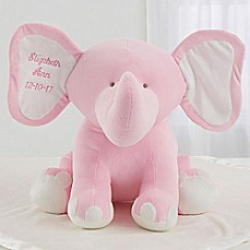 image of Pink Plush Elephant