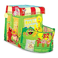 image of Playhut® Sesame Street® Hoopers Store Play Tent