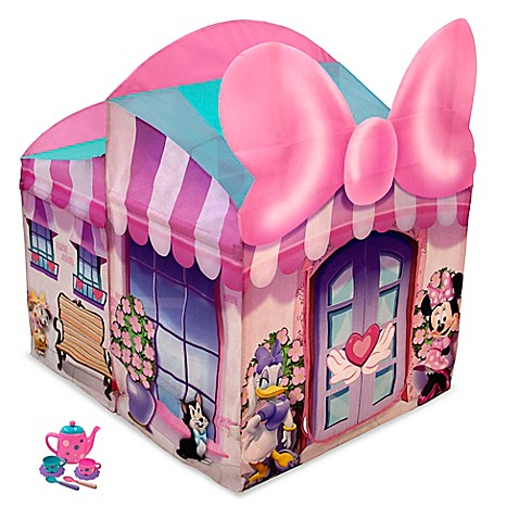 Playhut 174 Disney 174 Minnie Mouse Cottage Pop Up Tent Buybuy
