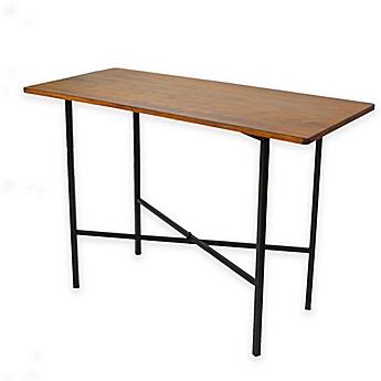 Image Of Carolina Cottage Elmsley Rectangle Bar Table
