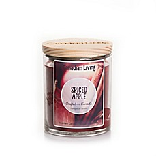 image of Canadian Living Spiced Apples 8 oz. Jar Candle