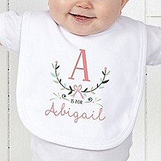 Personalized baby gifts personalized gifts for boys girls image of girly chic bib negle Image collections