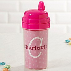 Personalized baby gifts personalized gifts for boys girls image of just me sippy cup in pink negle Image collections