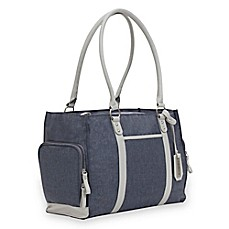 image of Bananafish Charlotte Breast Pump Tote Bag in Grey