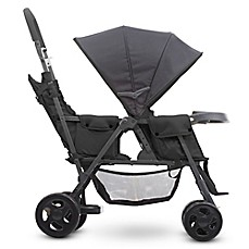 image of Joovy® Caboose Too Graphite Stand-On Tandem Stroller in Black