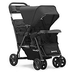 image of Joovy® Caboose Too Ultralight Graphite Stand-On Tandem Stroller in Black