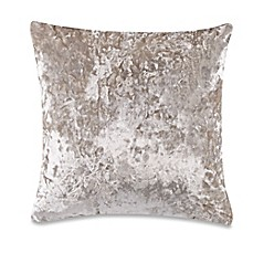 image of Crushed Velvet Square Throw Pillow