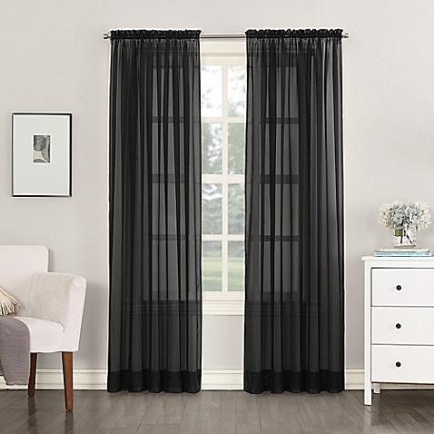 buy no 918 emily sheer voile 63 inch rod pocket window. Black Bedroom Furniture Sets. Home Design Ideas