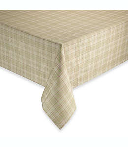 Mantel redondo para mesa de algodón 177 cm en arena