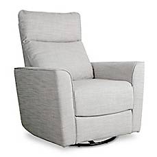 image of Baby Appleseed® Crosby Comfort Swivel Glider in Grey