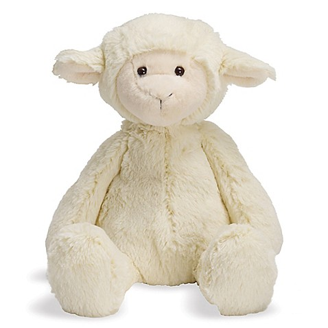 Manhattan Toy 174 Lovelies Lindy Lamb Plush Toy Bed Bath