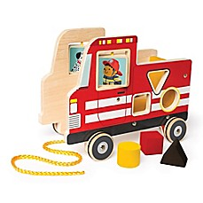 image of Manhattan Toy® My Fire Truck Pull Toy
