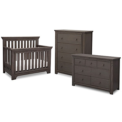 Serta Langley Nursery Furniture Collection In Rustic Grey Bed Bath Beyond