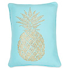 image of Thro Polly Pineapple Rectangular Throw Pillow