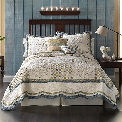 Emily Quilt, 100% Cotton - Bed Bath & Beyond : quilts for bed - Adamdwight.com