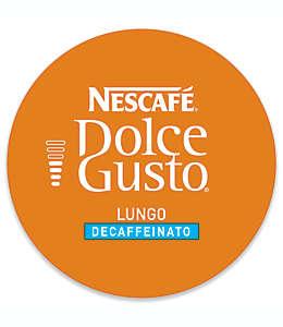 Cápsulas de café lungo descafeinado Nescafe® Dolce Gusto®, 16 pzas.