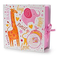 Tri Coastal Design Animal Keepsake Box Book In Pink