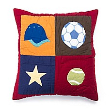 image of Amity Home Score Throw Pillow in Multi