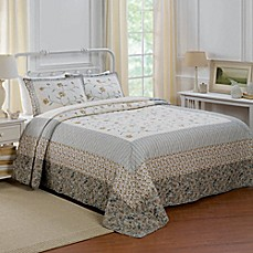 image of Nostalgia Home™ Constance Bedspread in Cream