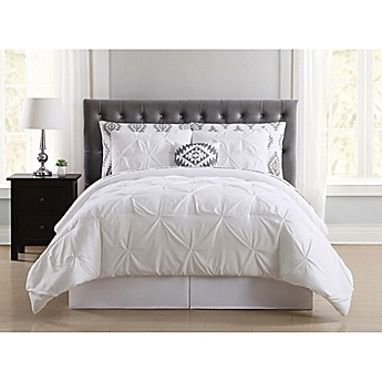 white bed sheets twitter header. Truly Soft Pueblo Pleated Comforter Set White Bed Sheets Twitter Header