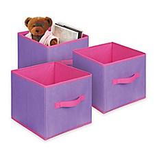 Bintopia Collapsible Storage Cube (Set of 3)  sc 1 st  Bed Bath u0026 Beyond & 13x13 storage cubes | Bed Bath u0026 Beyond