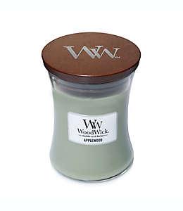 Vela en vaso de vidrio Applewood WoodWick® de 283.49 g