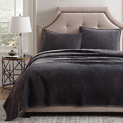 Quilts, Coverlets and Quilt Sets - Bed Bath & Beyond : grey quilted comforter - Adamdwight.com